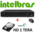 Dvr Intelbras 8 Canais Stand Alone Vd 3008 Hdmi + Hd 1 Tera