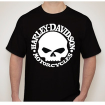 Camisa Masculina Harley Davidson - Motos