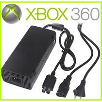 Fonte Xbox 360 Super Slim A11-120na1 Com Cabo 110v 120w