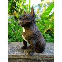 Escultura De Bulldogue Frances