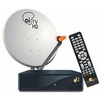 Kit Completo Oi Tv Livre 2 Receptores Etrs35+ Lnb Duplo+cabo