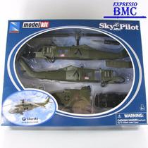 Helicóptero Sikorsky Uh-60 Black Hawk Escala 1:60 New-ray