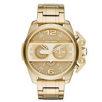 Relógio Masculino Diesel Dz4377/4dn 56mm Dourado
