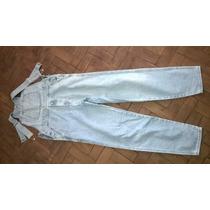 Macacão Jeans Masculino G Unissex