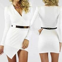Vestido Branco Importado Para Ano Novo / Reveillon