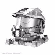 Mini Réplica De Montar Halo Master Chief H. Metal Earth Beek