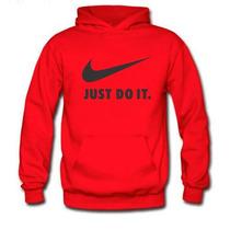 Blusa Moletom Canguru Capuz Bolso Masculino Nike Personaliza