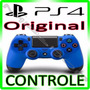Controle Ps4 Playstation 4 Original Sony Dualshock 4 Azul