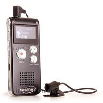Gravador De Voz Digital 8gb Escuta Telefônica Mp3 Pen Drive