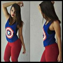 10 Camisetas Regatas Femininas Academia - Estampas Fitness