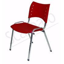 Cadeira E Longarina Para Igrejas Pitura Cromada