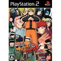 Coleção C/12 Patch Jogo Ps2 Naruto Uzumaki Chronicles Nindem