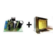 Kit Placa Amplificador 100w Rms (montada) Alfakits + Trafo