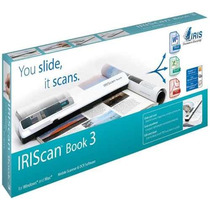 Scanner De Mão Iriscan Book 3 Digitalizador