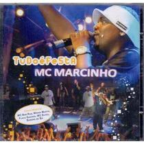 Cd Mc Marcinho Tudo É Festa Lacrado