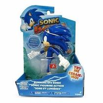 Boneco Articulado Sonic Boom C/ Luz - Running Sfx Tommy Sega