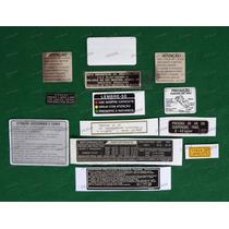 Adesivos Advertência Honda Cbx 750 Indy Originais 7galo