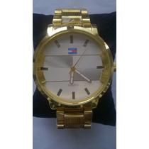 Relógio Em Aço Barato Masculino - Cronos Decorativos
