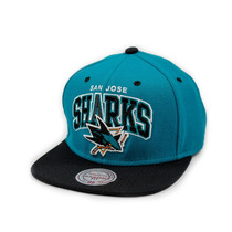 Boné Mitchell And Ness Snapback San Jose Sharks Verde / Pre