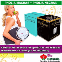 60 Caps Pholia Magra 300mg + 60 Caps Pholia Negra 100mg - 32