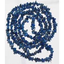 Cascalho Lapis Lazuli Natural Azul Escuro 90cm Teostone 429