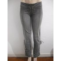 Calça Jeans Feminina Tam 40 Ziper Fontal, Usado Bom Estado