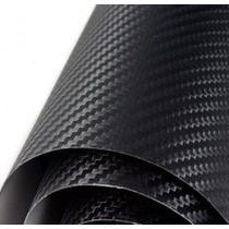 Envelopamento Automotivo Fibra De Carbono 1x2 M