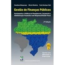 Livro Gestão De Finanças Públicas Oferta Reliquaja