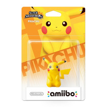 Amiibo Pikachu Super Smash Bros New Nintendo 3ds E Wii U