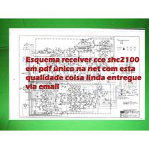 Esquema Receiver Cce Shc2100 Shc 2100 Em Pdf