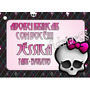50 Tags Personalizadas Monster High- Adriarts