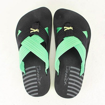Chinelo Masculino Kenner Kivah Spider Duo - Verde