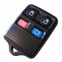 Capa Carcaça Controle Alarme Ford 4 Botões