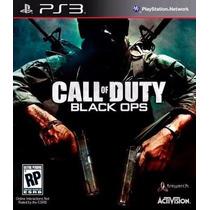 Jogo De Ps3 Call Of Duty Black Ops Original Lacrado