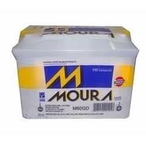 Bateria Moura 60 Amp 60ad/60gd 18 Meses Garantia