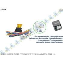 Modulo Vidro Eletrico Fechamento Vw Golf 14/... - Tury