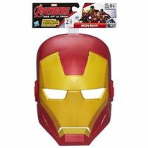 Mascara Os Vingadores Homem De Ferro Original Hasbro