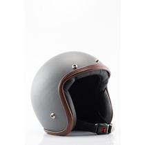 Capacete Aberto - Old School - Cafe Racer