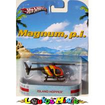 Hot Wheels Retro Island Hopper Helicoptero Magnum, P.i. Lacr