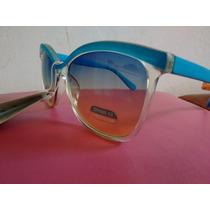 Óculos De Sol Azul Super Estiloso