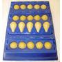 Fabrica Coxinhas Pequena Tipo Festas 4cm Faz 20 Azul