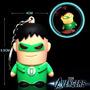 Chaveiro Lanterna Verde - Com Led E Som - House Of Rock