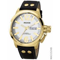 Relógio Magnum Masculino Ma31524b Original 2 Anos Garantia