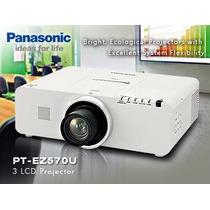 Projetor Panasonic Pt-ez570u Wuxga 1080p Lcd 5000 Lumens Hd