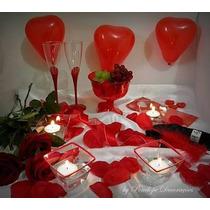 Dia Dos Namorados Kit Decoração Quarto Romântico
