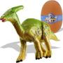 Mini Quebra Cabeça 3d Dinossauro Parasaurolophus Pequeno