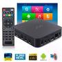 Smart Tv Box Quad-core 4k / Bluetooth / Hdmi / Wi-fi And