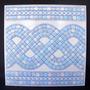 Azulejo Antigo Reposição 20 X 20 Mosaico Azul