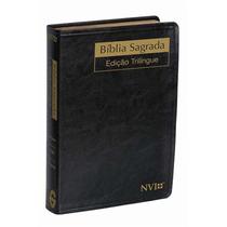 Bíblia Trilingue - Português, Inglês E Espanhol / Nvi.