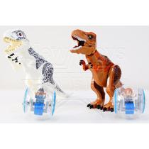 Kit Jurassic World - Indominus Rex E T-rex Vs Girosferas